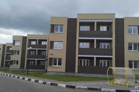 2-комн квартира, 54.5 м2, 3 этаж