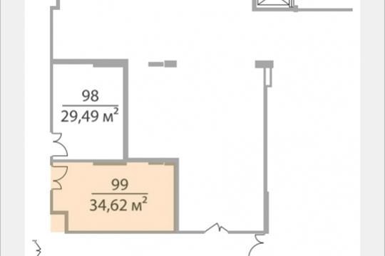 Офис, 34.62 м2, класс A