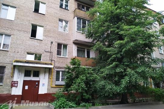 2-комн квартира, 44.3 м2, 1 этаж