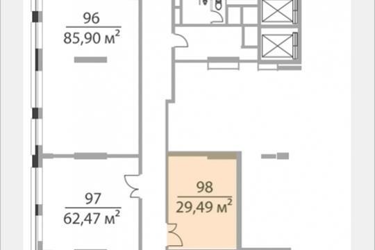Офис, 29.49 м2, класс A