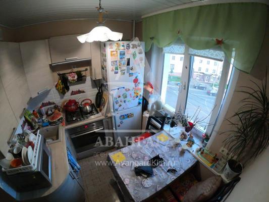 3-комн квартира, 57 м2, 4 этаж - фото 1