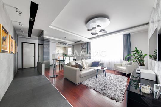 3-комн квартира, 106.8 м2, 22 этаж