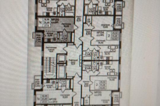 Студия, 27 м2, 14 этаж