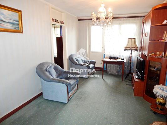 2-комн квартира, 46.5 м2, 5 этаж - фото 1