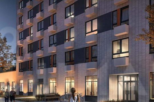 2-комн квартира, 52.4 м2, 5 этаж