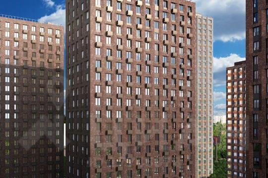2-комн квартира, 44.46 м2, 29 этаж