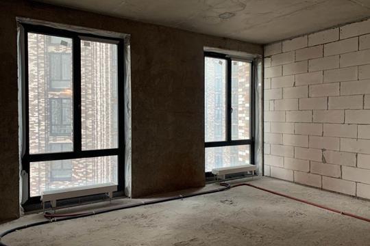1-комн квартира, 43.5 м2, 23 этаж