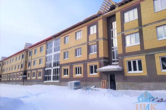 1-комн квартира, 39.2 м2, 2 этаж