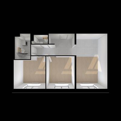 2-комн квартира, 59.1 м2, 14 этаж - фото 1