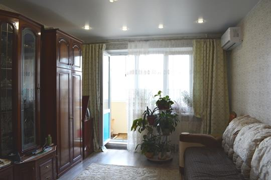 1-комн квартира, 42 м2, 15 этаж