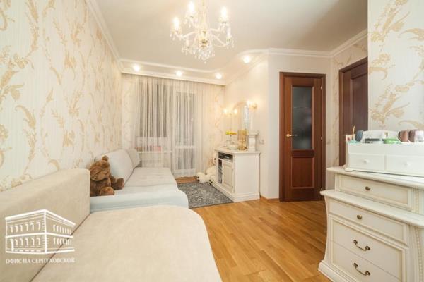 3-комн квартира, 66.3 м2, 3 этаж - фото 1