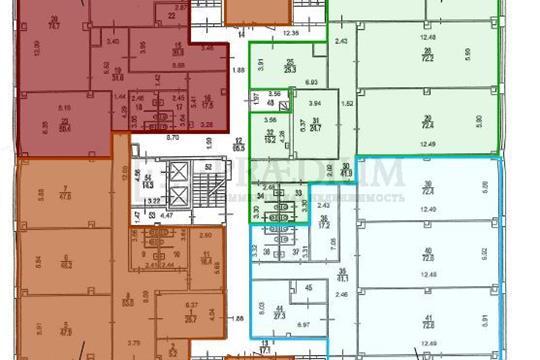 Офис, 357 м2, класс B