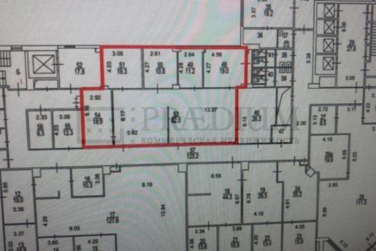 Офис, 184 м2, класс B+