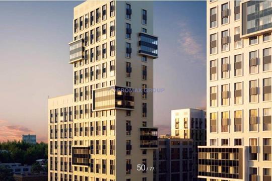 3-комн квартира, 95.5 м2, 13 этаж