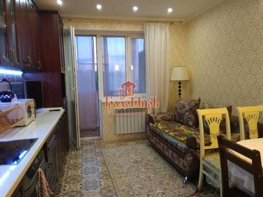 1-комн квартира, 48 м2, 2 этаж - фото 1
