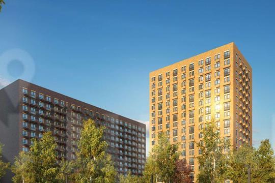 3-комн квартира, 73.3 м2, 27 этаж