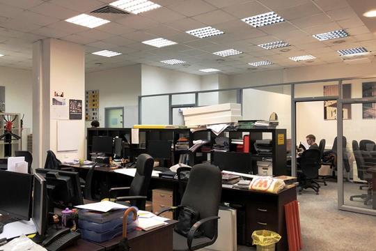 Офис, 546.12 м2, класс B