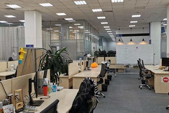 Офис, 1327 м2, класс B