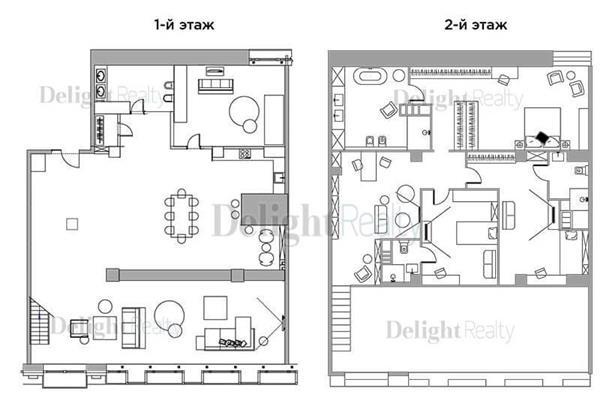 Многокомнатная квартира, 342.6 м2, 4 этаж - фото 1