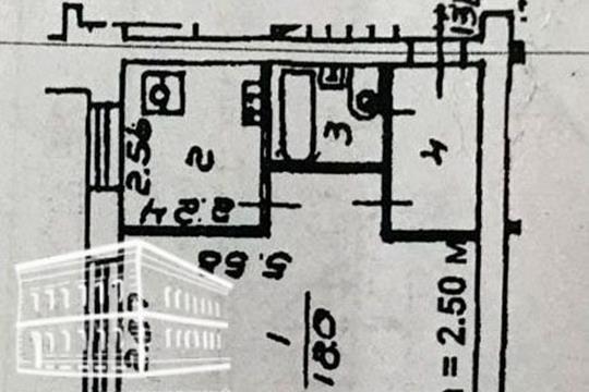 1-комн квартира, 30 м2, 1 этаж