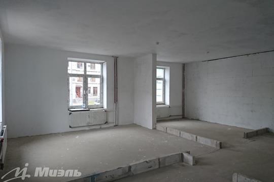 2-комн квартира, 50.5 м2, 1 этаж