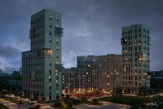 1-комн квартира, 43.56 м2, 11 этаж
