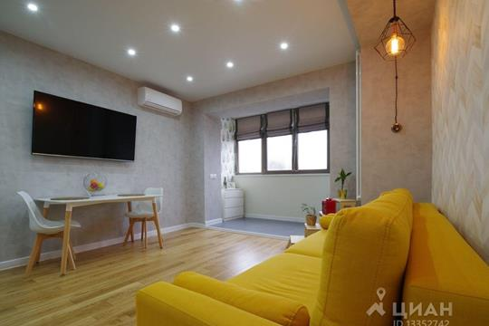1-комн квартира, 42 м2, 20 этаж