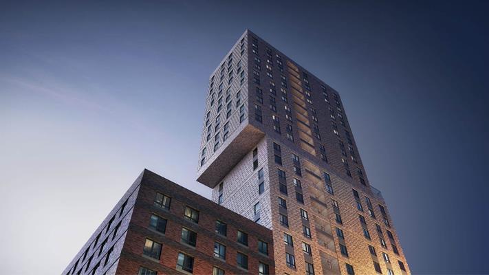 2-комн квартира, 61.9 м2, 18 этаж - фото 1