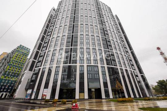 1-комн квартира, 39 м2, 24 этаж