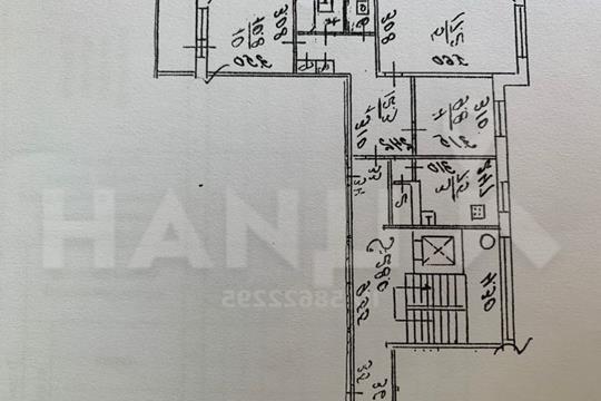 3-комн квартира, 65 м2, 9 этаж
