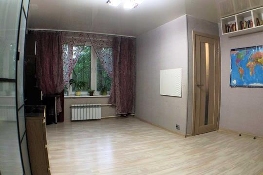2-комн квартира, 45.2 м2, 1 этаж