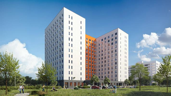 1-комн квартира, 36.3 м2, 15 этаж - фото 1