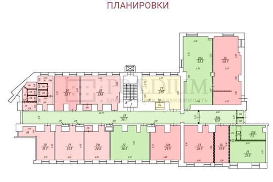 Офис, 53 м2, класс B