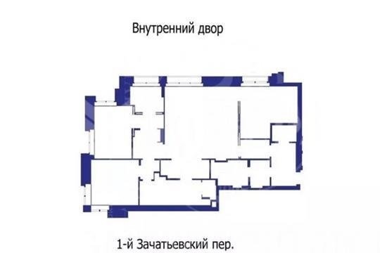 4-комн квартира, 87 м2, 6 этаж