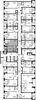 1-комн квартира, 37.8 м2, 1 этаж - фото 1