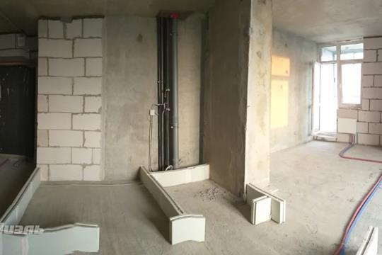 1-комн квартира, 42.1 м2, 18 этаж