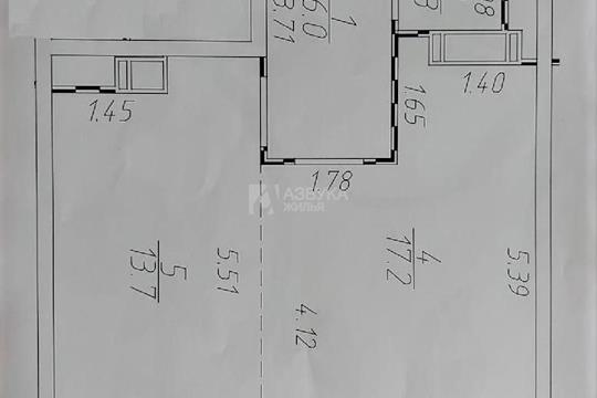1-комн квартира, 45 м2, 8 этаж