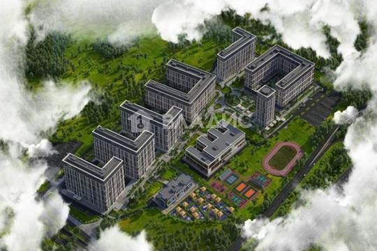 2-комн квартира, 61.4 м2, 4 этаж
