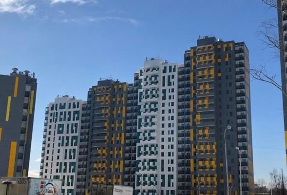 2-комн квартира, 52 м2, 12 этаж - фото 1