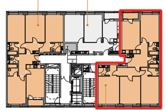 4-комн квартира, 113.7 м<sup>2</sup>, 14 этаж_1