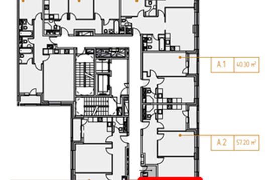 2-комн квартира, 76.1 м<sup>2</sup>, 3 этаж_1