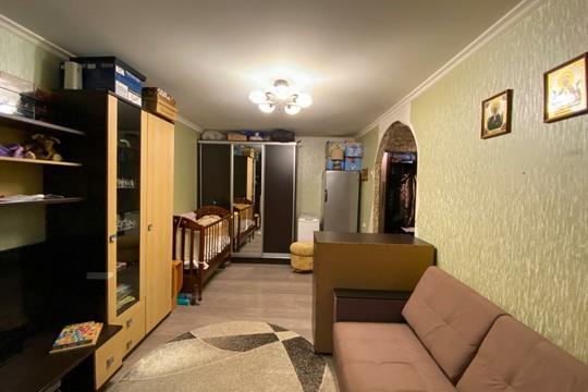 1-комн квартира, 30.6 м2, 3 этаж