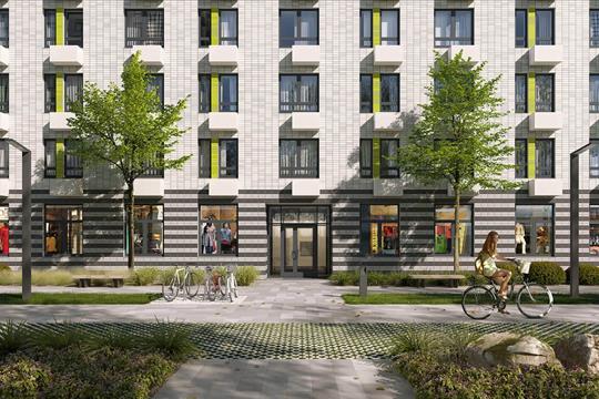 1-комн квартира, 35.7 м<sup>2</sup>, 23 этаж_1