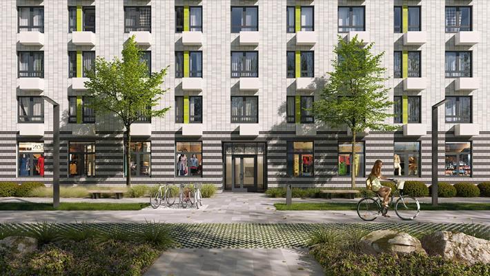 1-комн квартира, 35.7 м2, 23 этаж - фото 1