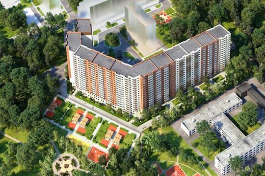2-комн квартира, 60.1 м2, 5 этаж