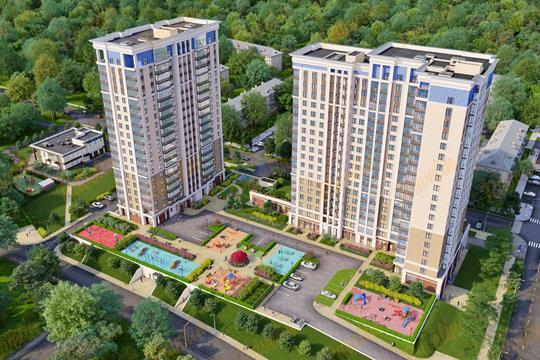 3-комн квартира, 92.19 м<sup>2</sup>, 17 этаж_1