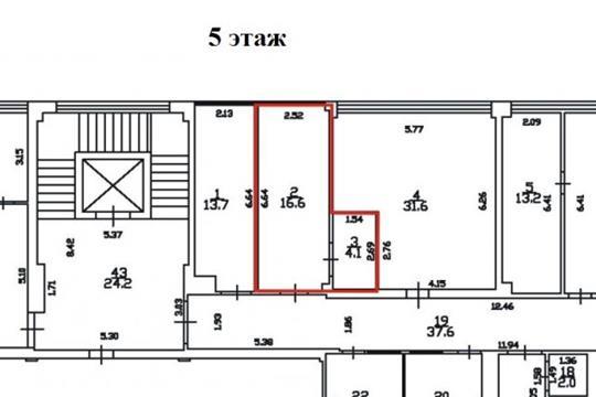 Офис, 21 м2, класс A