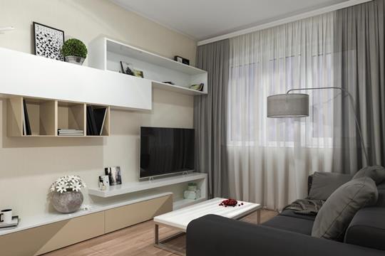 1-комн квартира, 25.72 м2, 6 этаж