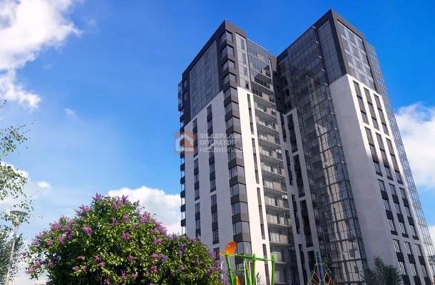 1-комн квартира, 44.74 м2, 8 этаж - фото 1