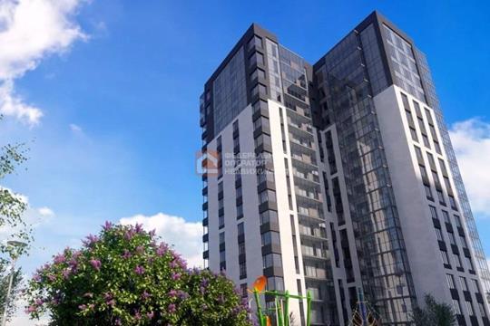 1-комн квартира, 34.17 м2, 17 этаж
